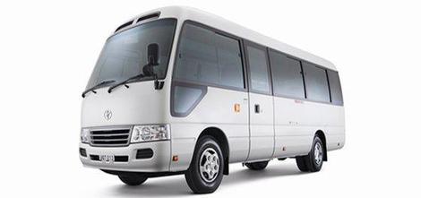 Toyota Coaster...Click Here For Details