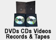 Click Here To View All Items Listed In DVDs, CDs, Videos, Records & Tapes...