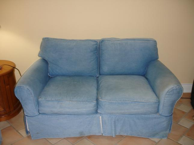 and Love Seat in good condition...Click Here For Details