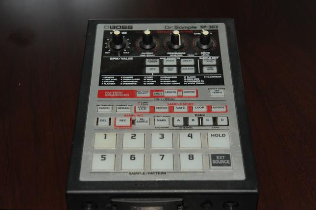 Dr. Sample SP-303 Digital Sampler...Click Here For Details