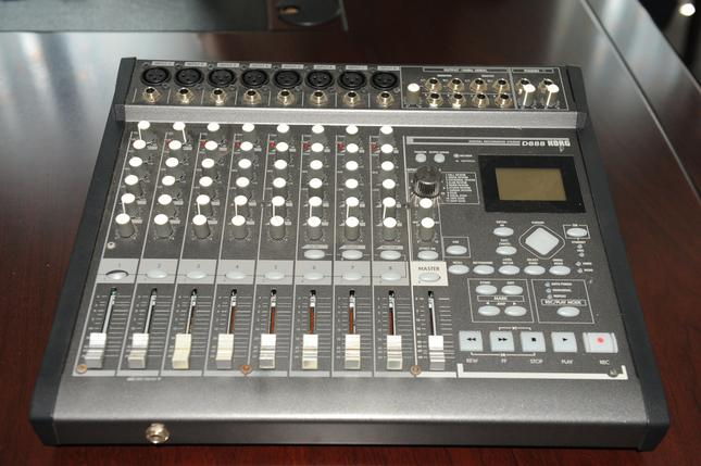 D888 Digital Multi Track Recorder...Click Here For Details