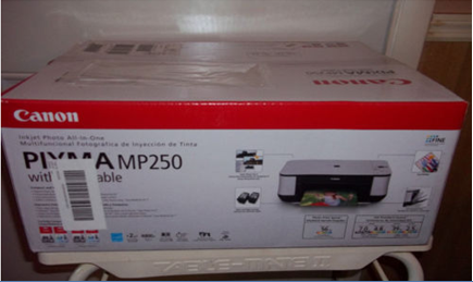 PIXMA MP250 All-In-One Inkjet Printer...Click Here For Details