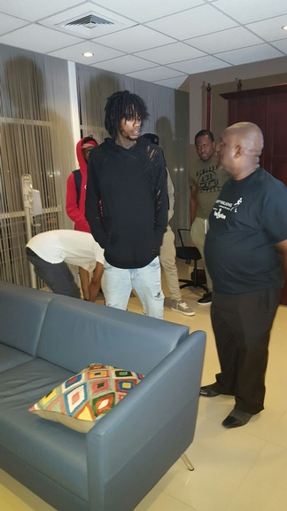 Alkaline arrives in Federation for Inception Fete