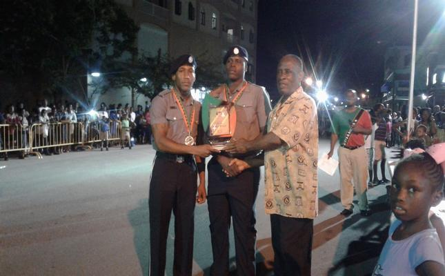 Police win Drill Competition for second time