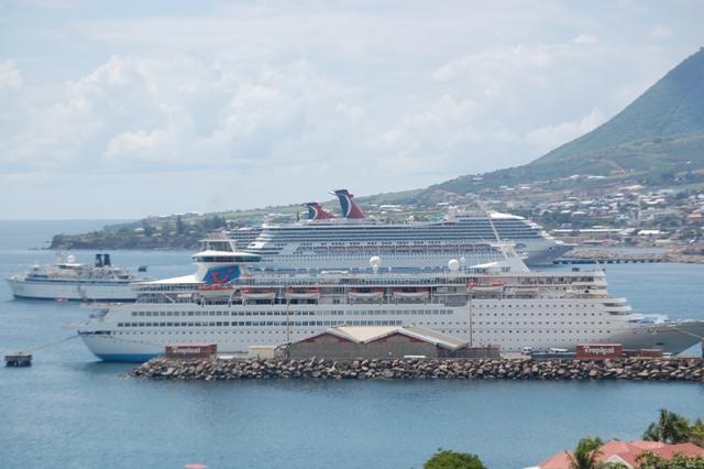 SKNVibes  280000 Cruise Passengers Visited St Kitts