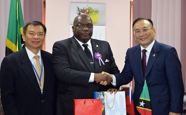 ROC (Taiwan) commits to further strengthen diplomatic ties with St. Kitts and Nevis