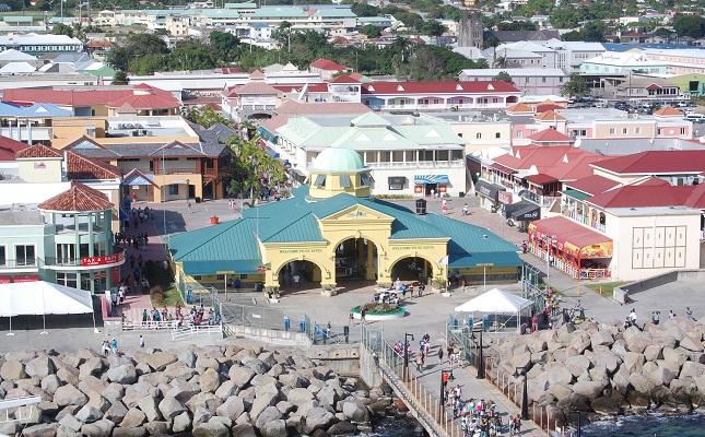 Sknvibes st kitts port zante among 10 great caribbean ports for Port zante st kitts