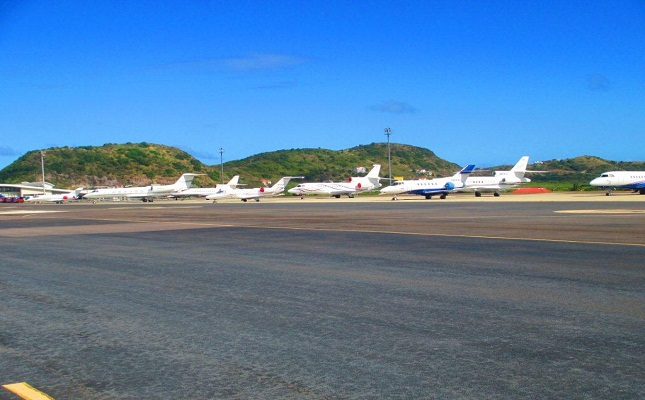 Private Jet Arrivals Up Following Airport Parking Expansion; Double-Digit Increases in Yacht Arrivals Over 2011