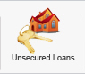 A loan that does not use an asset as security. Unsecured loans generally offer higher interest rates and less flexibility than secured loans.