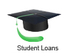 Loan designed to help students pay for college tuition, books, and living expenses
