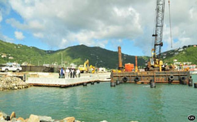 SKNVibes Cruise Ship Tender Pier Nearing Completion - Bvi ports authority cruise ship schedule
