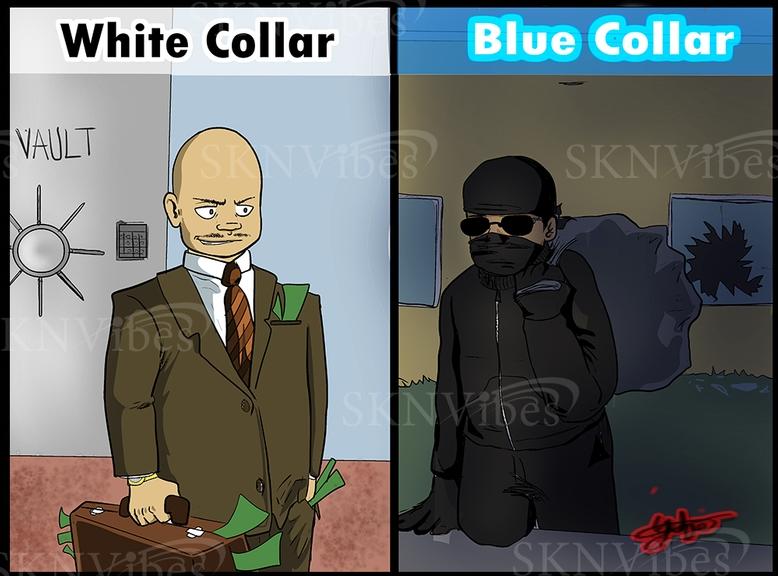 white collar vs blue collar crime