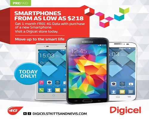 SKNVibes | Digicel Delivers Super Smartphone Sale Today