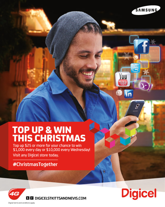 SKNVibes | Win Your Share of $15,000 Weekly this Christmas